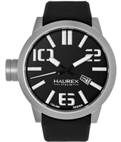 Haurex Turbina-Black-&amp;-Silver 1A377UNW -  