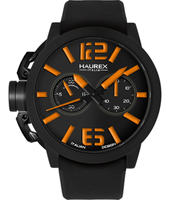 Haurex Turbina-Black-&-Orange 3N377UNO -