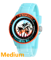 Ice Watch FMIF-Sili-Turquoise-Orange-Medium FM.SS.TEP.U.S11 -