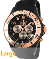 Ice Watch Ice-Chrono-Rose-Gold-Black-Big CH.RG.B.S.09 -