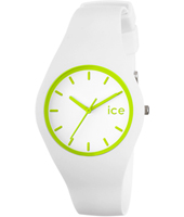 Ice Crazy White & Lime watch