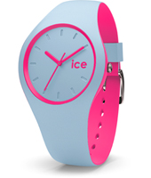 Ice-Duo 41mm Blue & Pink Silicone Watch