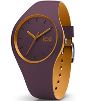 012967 Ice-Duo Winter 35mm Purple & mustard ladies watch