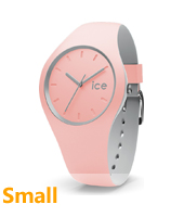 012968 Ice-Duo Winter 34mm Pink & grey ladies fashion watch