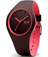 012972 Ice-Duo Winter 35mm Brown & pink ladies fashion watch