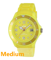 Ice Watch Ice-Flashy-Neon-Yellow-Medium SS.NYW.U.S.12 -