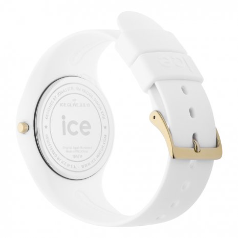 White & Gold watch size Medium Fall Winter Collection Ice-Watch