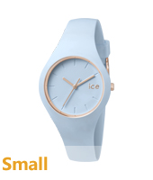 Ice-Glam Pastel Pastel Blue Watch, size Small