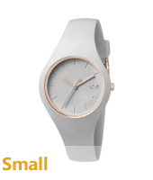 Ice-Glam Pastel Pastel Grey Watch, size Small