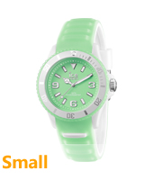 Ice-Glow Green Glow-in-the-dark Watch, size Small