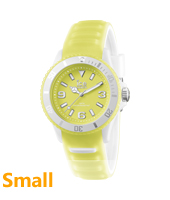 Ice-Glow Yellow Glow-in-the-dark Watch, size Small