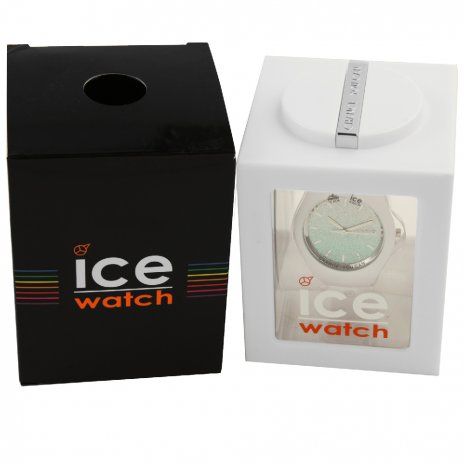 White Ladies Watch with Crystals Size Small Spring Summer Collection Ice-Watch