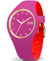 007243 Ice-Loulou 41mm Purple & gold silicone watch