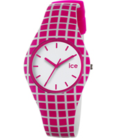 Ice Sixties Striped Pink Watch