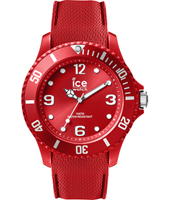 007267 Ice-Sixty Nine 48mm Red silicone fashion watch