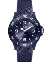 007270 Ice-Sixty Nine 38mm All blue silicone fashion watch