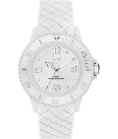 007275 Ice-Sixty Nine 38mm White silicone fashion watch