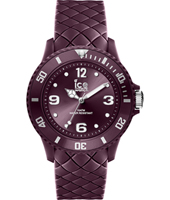 007276 Ice-Sixty Nine 38mm Purple silicone fashion watch