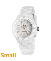 Ice-Solid White watch size Small