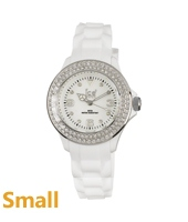 Ice Watch Ice-Stone-White-Silver-Small ST.WS.S.S.09 -