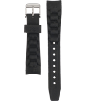 Ice Watch Stone-Sili-Small-Black-Silver-Strap AST.BS.S.S.09 -