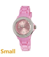 Ice Watch Stone-Sili-Small-Pink-Silver ST.PS.S.S.10 -