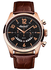 INQ007BKRS Chelsea 47mm Quartz Chronograph with Date