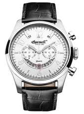 INQ007WHSL Chelsea 47mm Quartz chronograph with date disc