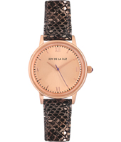 + JB545 GIFT SET: Retro watch with snakeskin bracelet