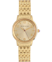 Gold retro ladies quartz watch