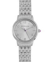 Silver retro ladies quartz watch