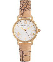 Classic gold ladies quartz watch