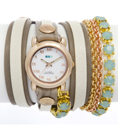 La Mer Chandelier-Crystal-Chain-St.-Tropez-Watch LMMULTI5002 -