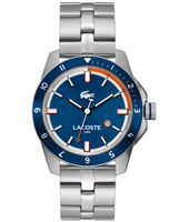 2010701 Durban Steel & Blue Sports Watch with Date