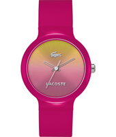 2020078 Goa  Pink fashion sport ladies watch with rubber strap