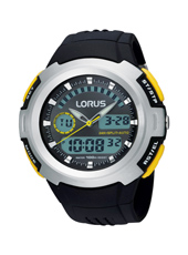 46mm Analog Digital Sports Watch