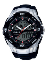 49mm Analog Digital Sports Watch
