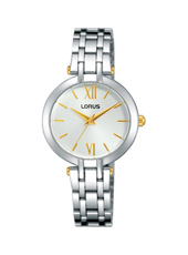 28mm Bicolor Ladies Quartz Watch