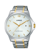 43mm Bicolor Gents Watch with Date