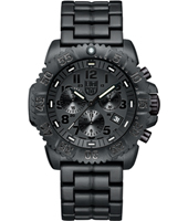 A.3082.BO Navy Seal Colormark  44mm All Black Carbon Dive Chrono