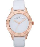 Marc Jacobs Blade-White-Rose-Gold MBM1201 -