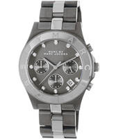 Marc Jacobs Blade-Chrono-Gunmetal MBM3179 - 2012 Fall Winter Collection