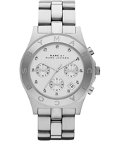 Marc Jacobs Blade-Chrono-Silver MBM3100 - 2012 Fall Winter Collection