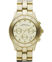 Marc Jacobs Blade-Chrono-Gold MBM3101 - 2012 Fall Winter Collection