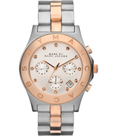 Marc Jacobs Blade-Chrono-Bicolor-Rose-Gold MBM3178 -