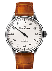 Nº 03 White Automatic One Hand Watch