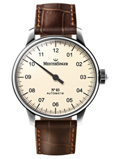 Nº 03 43mm Cream Automatic One Hand Watch