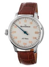 Nº 03 Limited Edition  43mm White & Rose Left Handed Automatic Watch