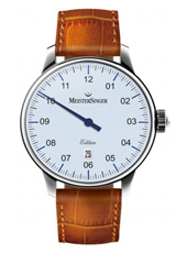 Nº 03 Limited Edition 43mm White Automatic One Hand Watch with Date