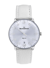 Neo Q 36mm White One Hand Quartz Watch with Date